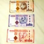 Tanzanian Shilling (TZS) - front (missing 500,1000)