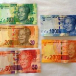 South African Rand (ZAR) - front