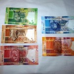 South African Rand (ZAR) -  back