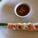 Vietnamese salad rolls/fresh spring rolls
