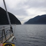 On a cruise in Doubtful Sound, New Zealand
