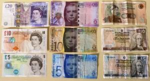UK Pound Sterling (GBP) - front (missing 50))