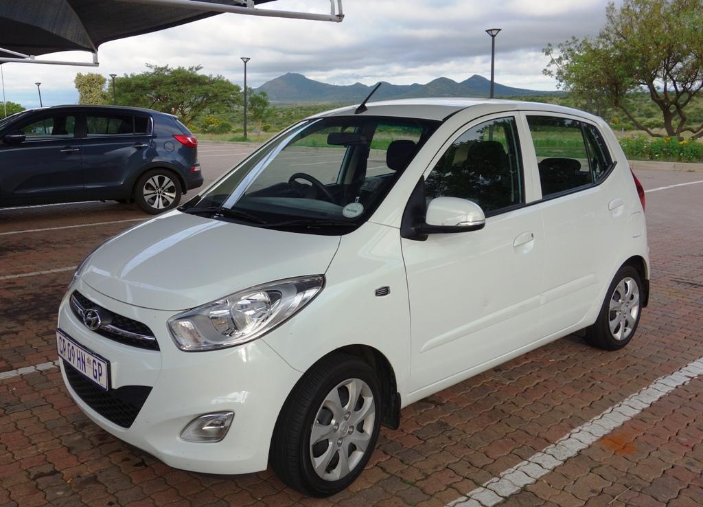 Our little Hyundai I10