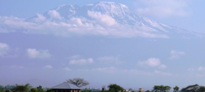 A Birthday present: Kilimanjaro