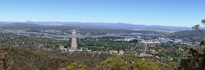 Looking at Canberra
