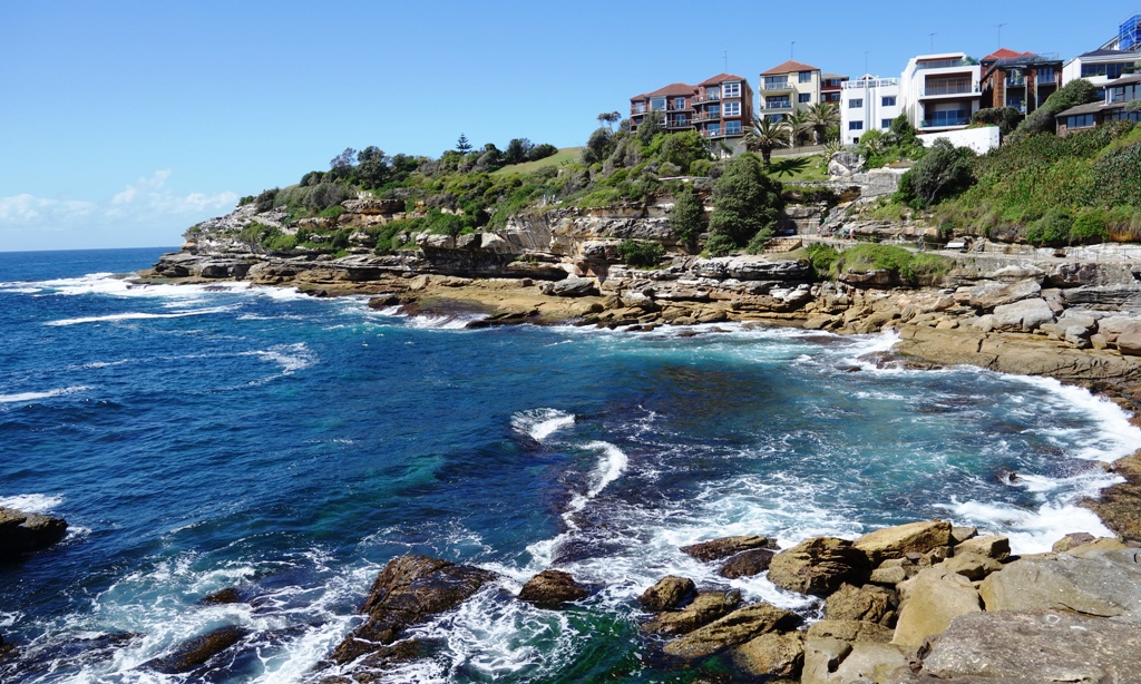 Cliff walk from Bondi Beach