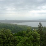 View back towards Byron Bay