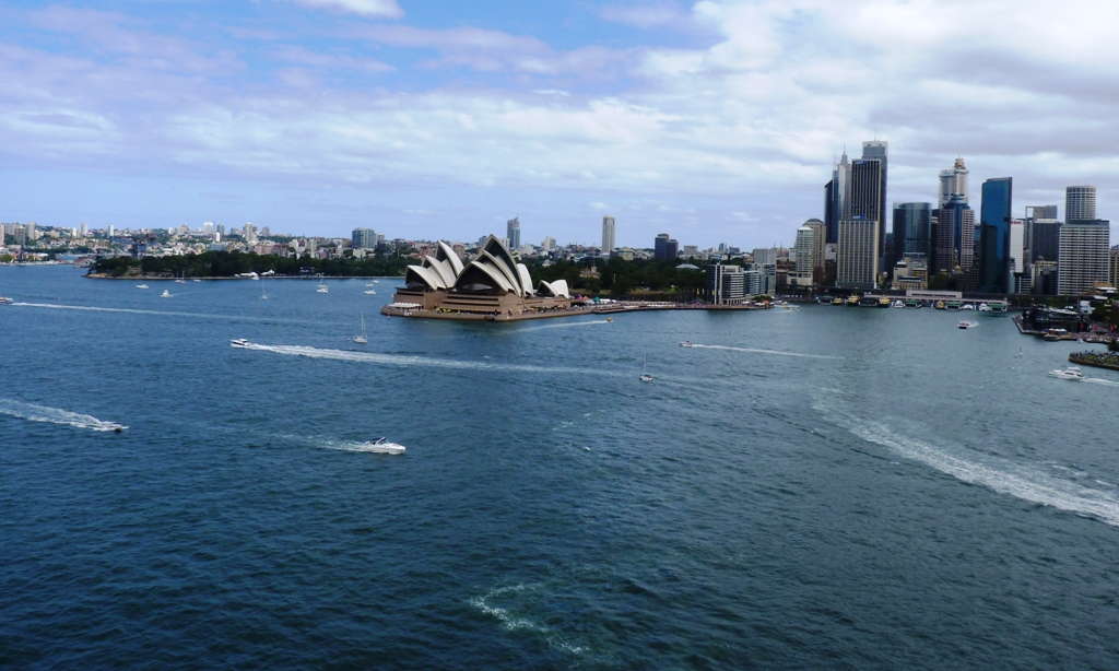 Opera House from Syndey Harbour Bridge