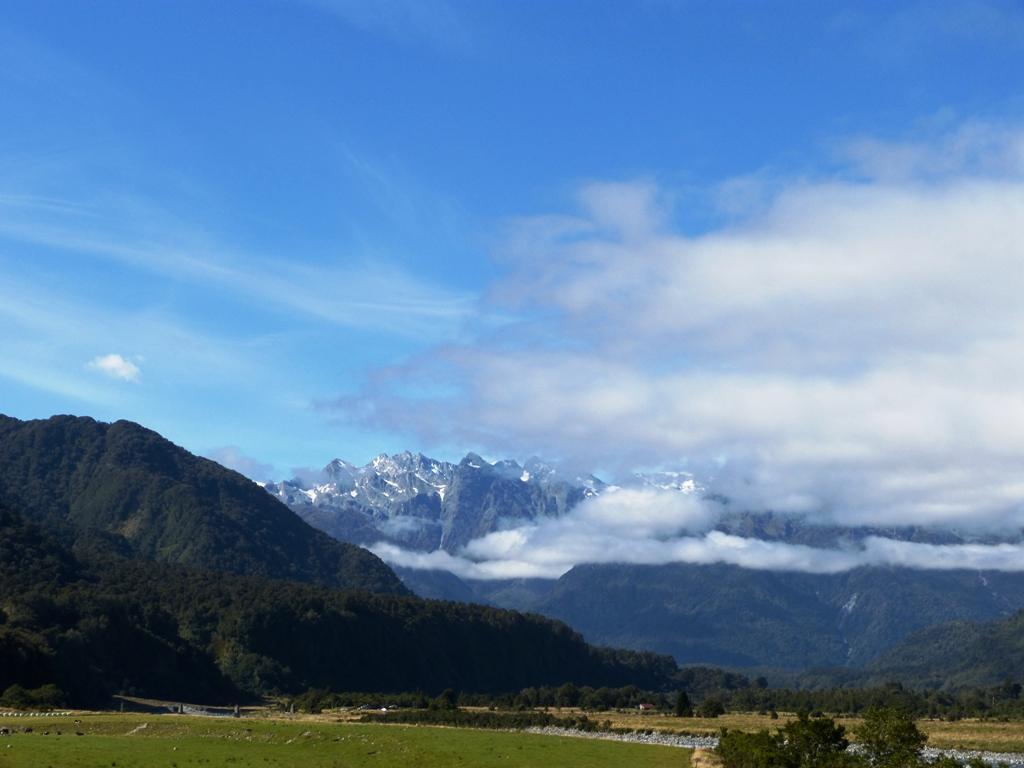 Mt. Cook in clouds