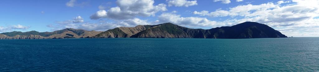 Cook Strait panorama