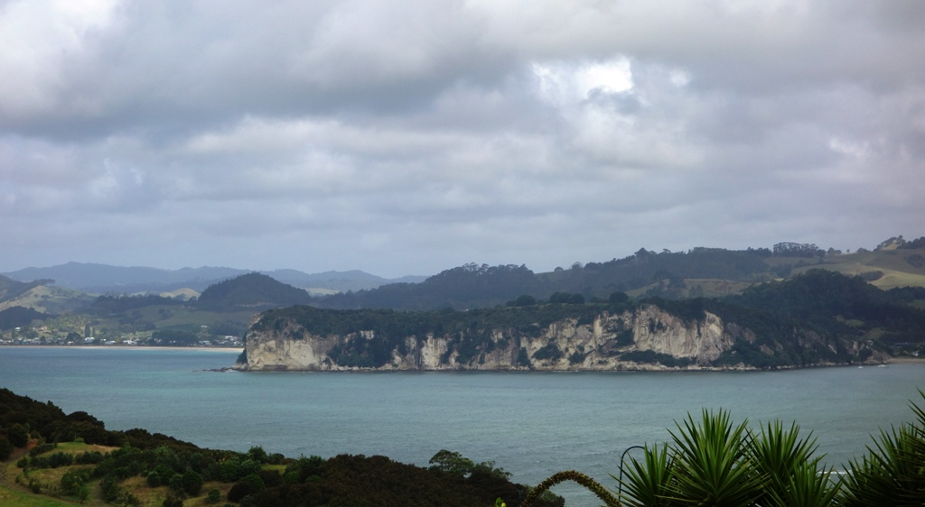 View over Whitianga from the place we stayed at