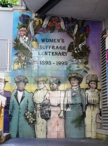New Zealand was the first country to give women the right to vote