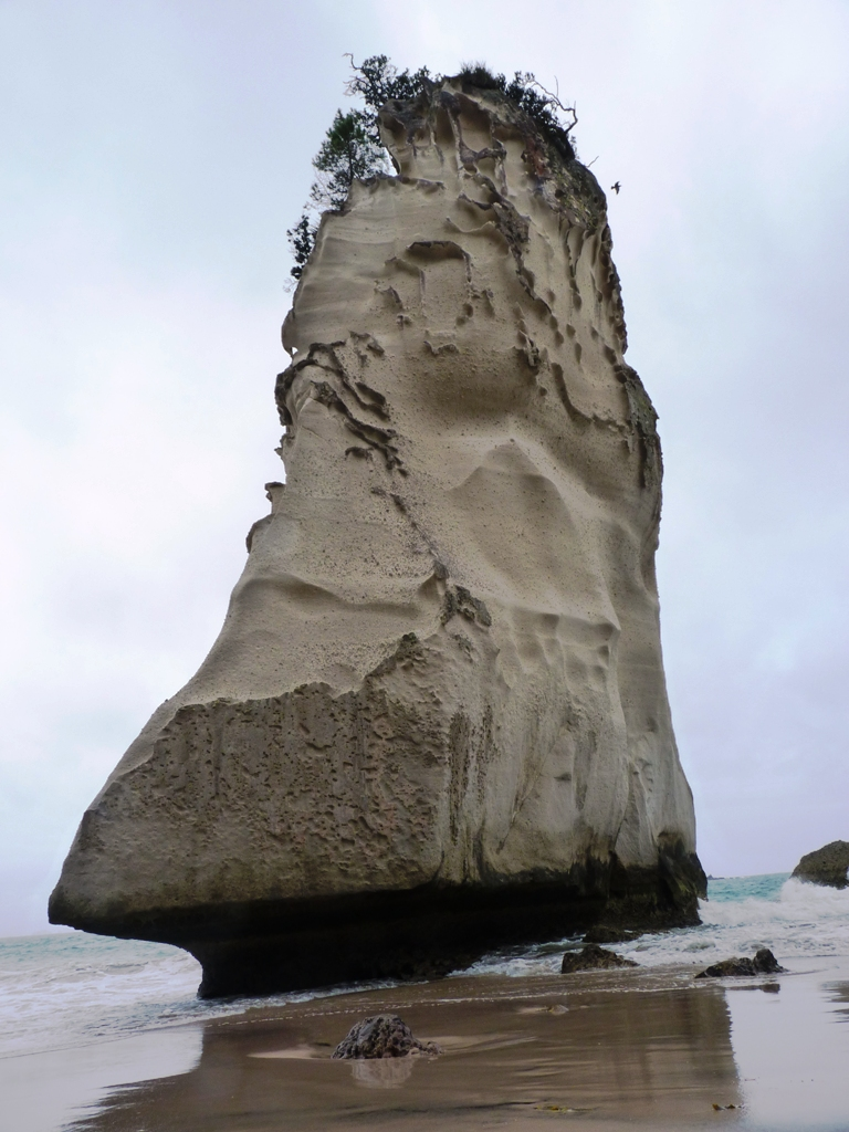 Te Hoho - the pumice ship like rock at Cathedral Cove