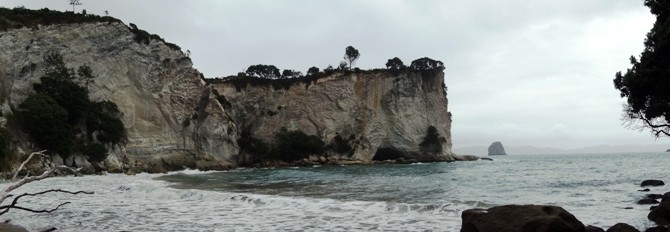 Coromandel – Coves and Pinnacles, waves and rain