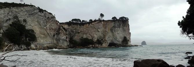 Coromandel – Coves and Pinnacles, waves and rain