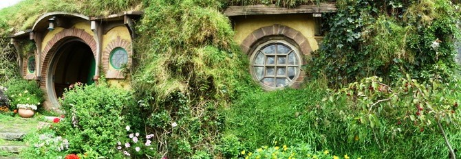 Paying a visit to Frodo & Bilbo – a Hobbiton story