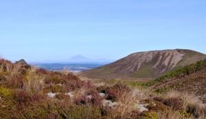 Mount Taranaki way in the distance