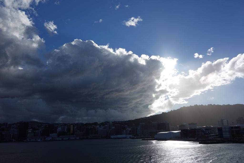 Clouds over Wellington