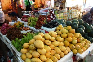 Fruits at the day market