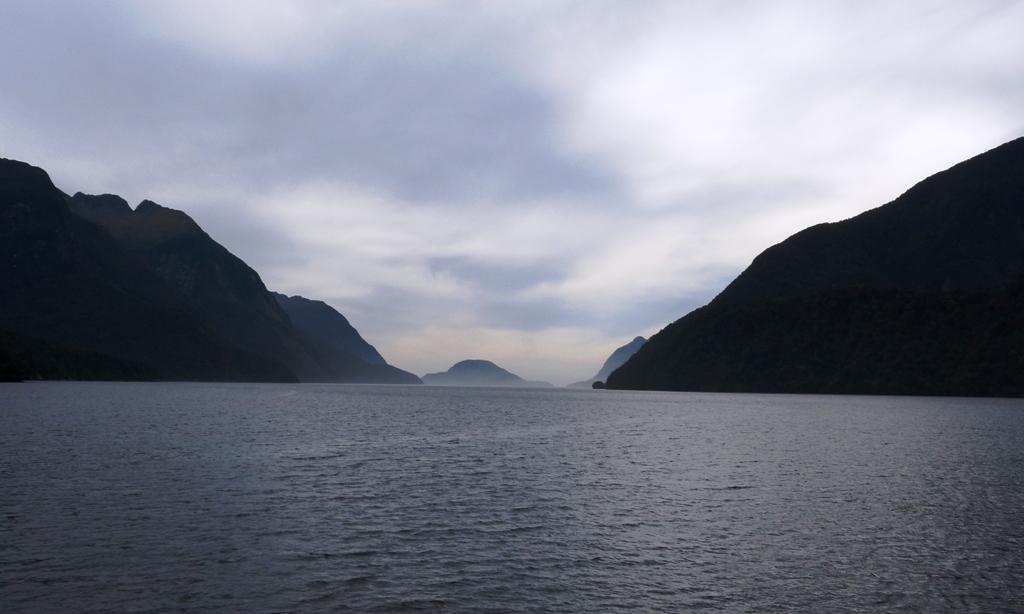 Heading towards Tasman Sea