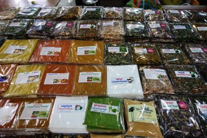 Spices, spices and more spices