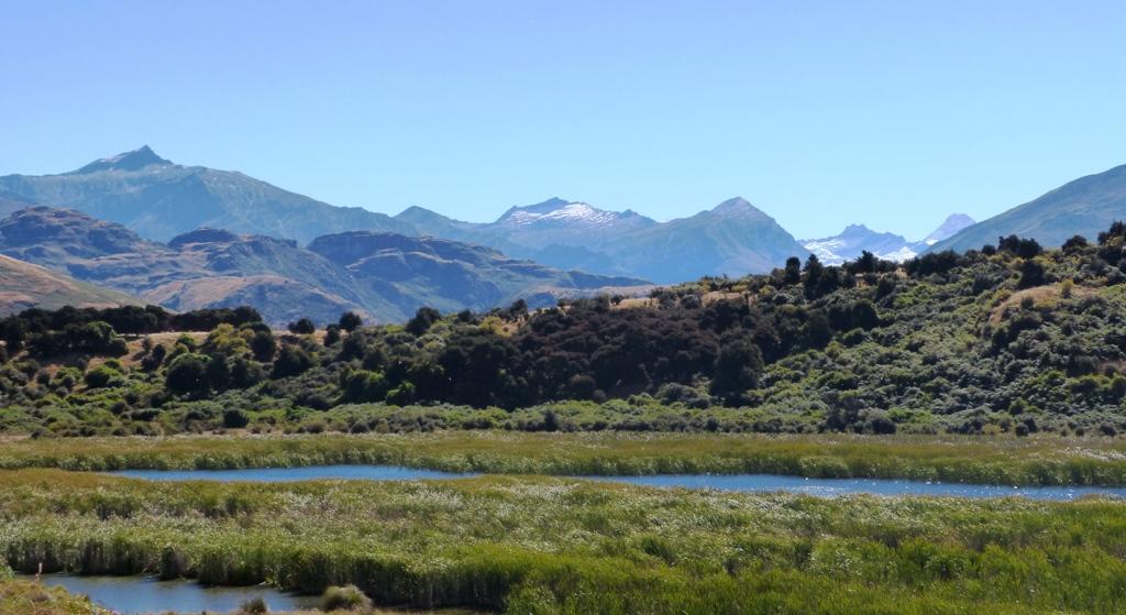 Mount Aspiring 50 km from Wanaka