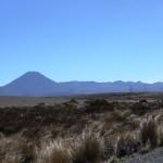 Mount Ngauruhoe peeking at us