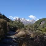 Mt. Ruapehu around Turoa ski field