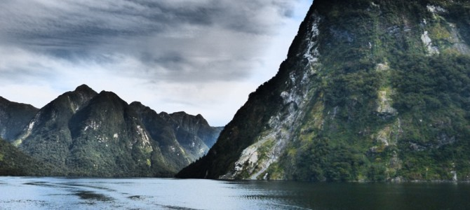 The Doubtful Sound – no doubt a must see while in New Zealand