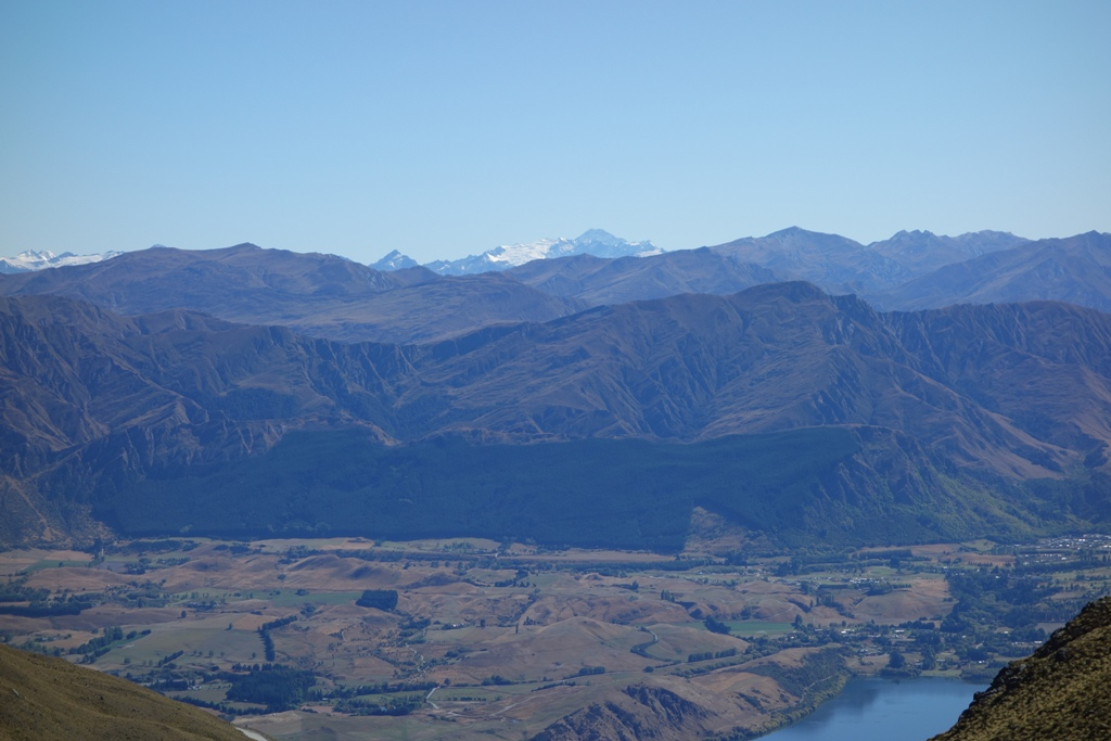 Mt. Aspiring from the slopes of The Remarkables