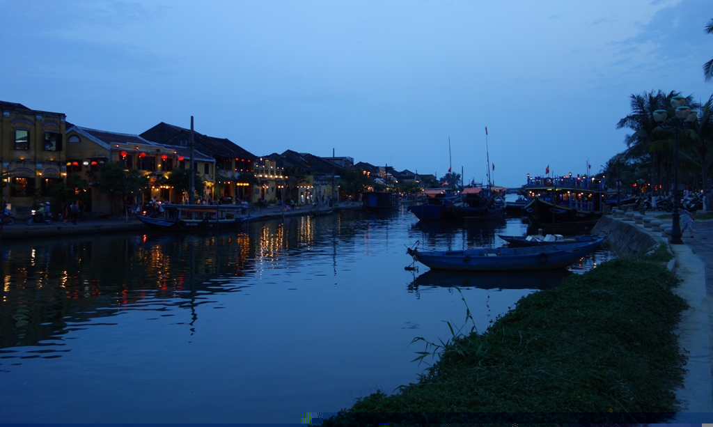 Historic and romantic Hoi An