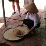 Separating the rice from the husks
