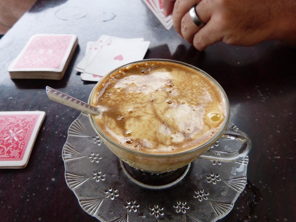 Egg yolk coffee...yumm