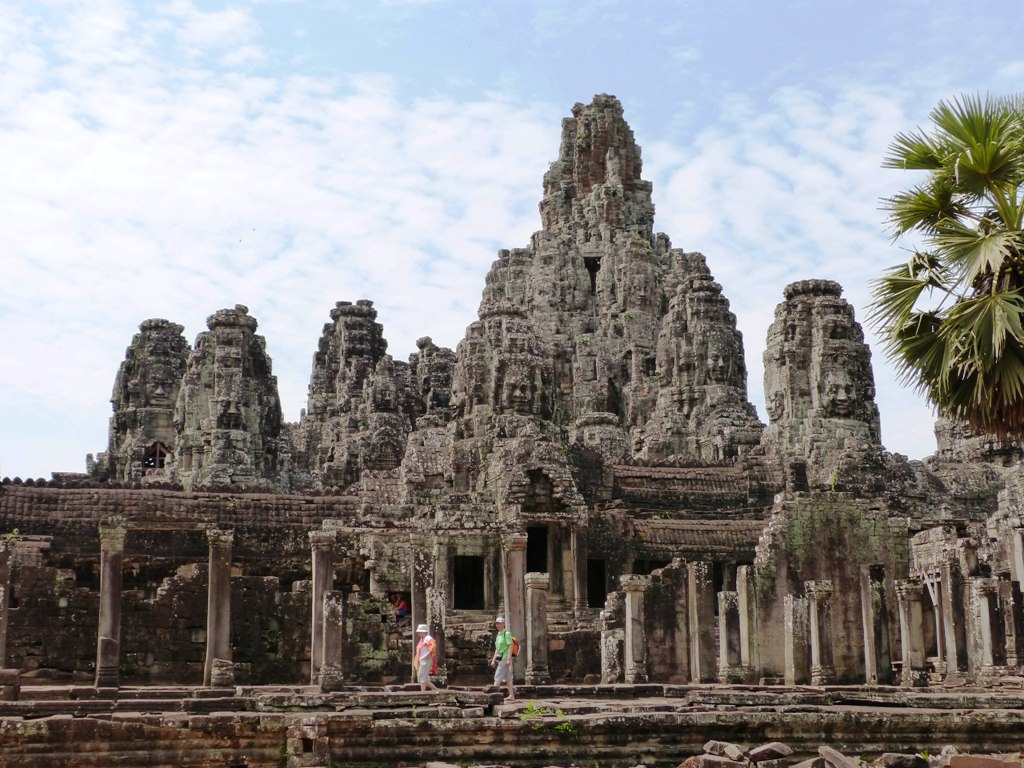 The Bayon or the temple of faces