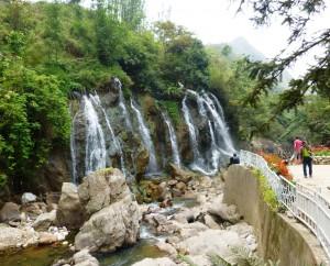 12. Beautiful waterfall near Cat Cat village