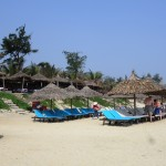 An Bang beach, a few kilometers outside of Hoi An