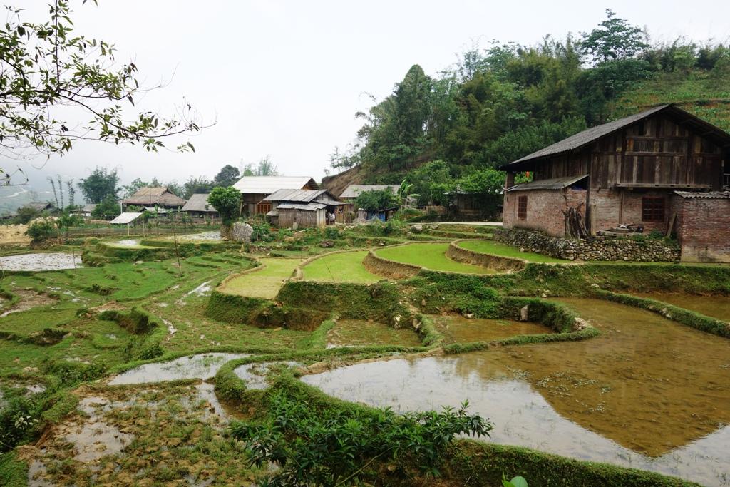 Lao Chai  - Black H'mong village