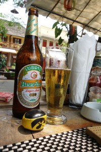 Beer Lao, a staple in Laos